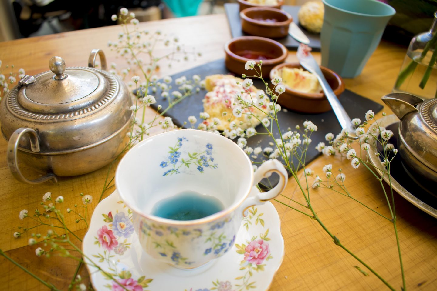 Oshinity Afternoon Tea Nook cafe