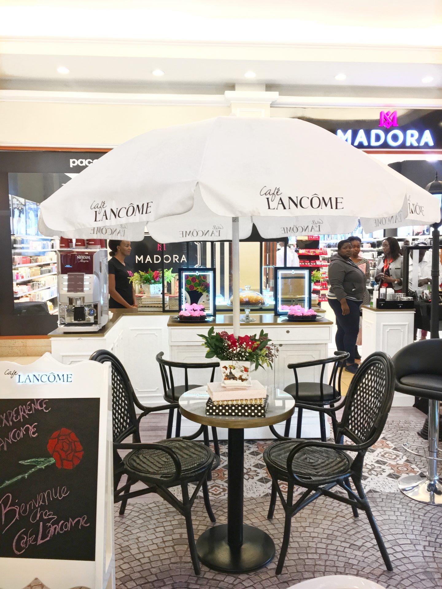 Oshinity Cafe Lancome Madora Nairobi Kenya