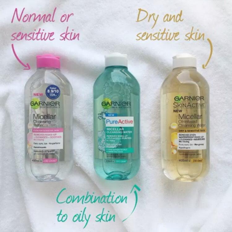 Oshinity micellar water uses