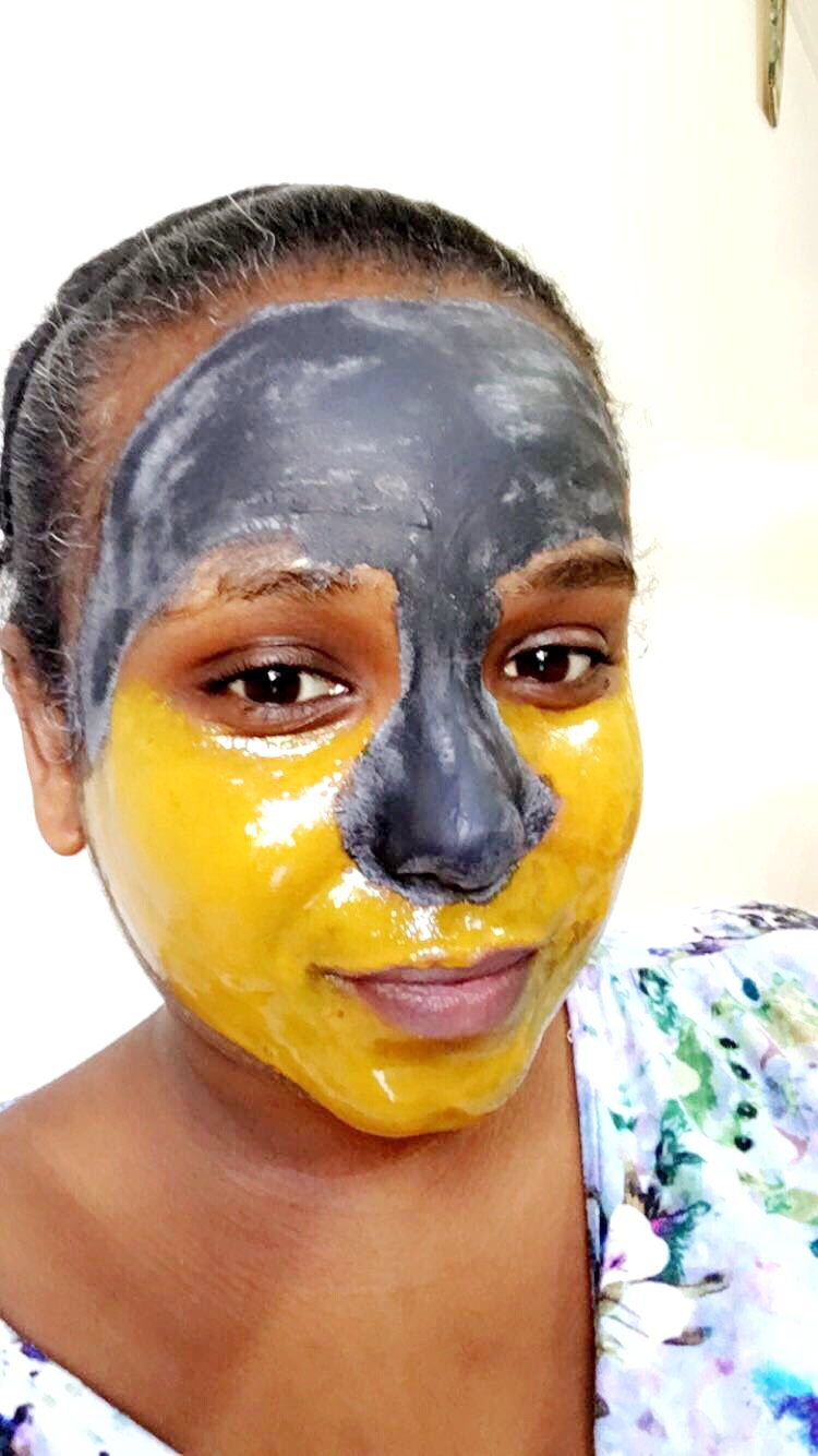 Oshinity Multimasking with L'Oreal Pure Clay Mask