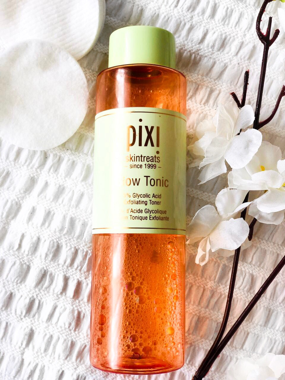 OSHINITY PIXI GLOW TONIC CHEMICAL EXFOLIANT BLOG REVIEW NAIROBI KENYA